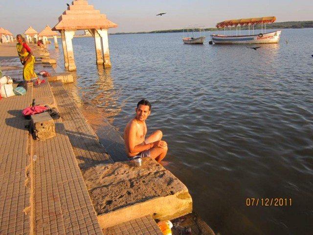 Somnath Triveni river