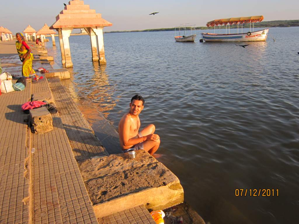 Somnath Triveni river