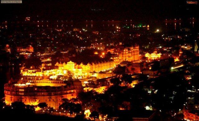 The Royal udaipur City palace