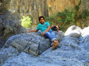 दीपक @ कोटेश्वर महादेव गुफा