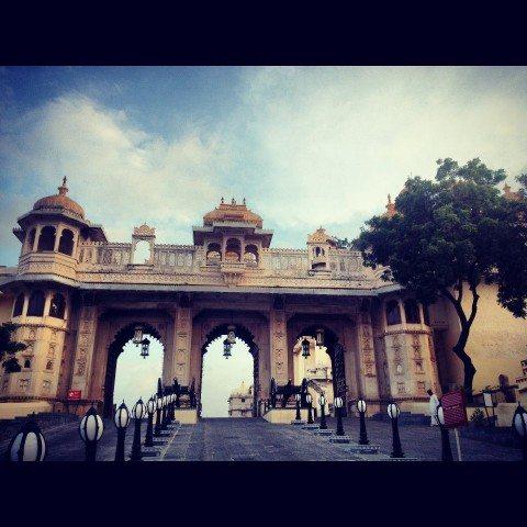 City Palace entrance