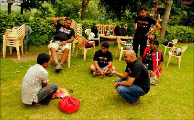 Magic Show @lunch in Aapni Dhaani