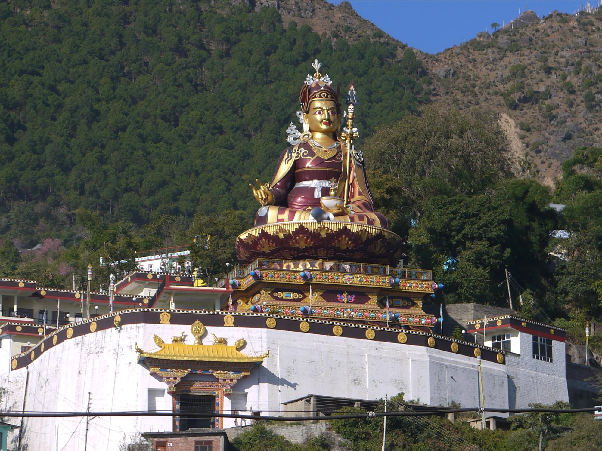 123 feet high statue of PadamSambhava