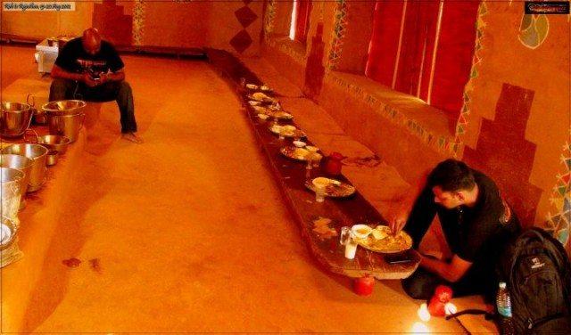 Rajasthani Traditional Lunch @ Aapni Dhaani