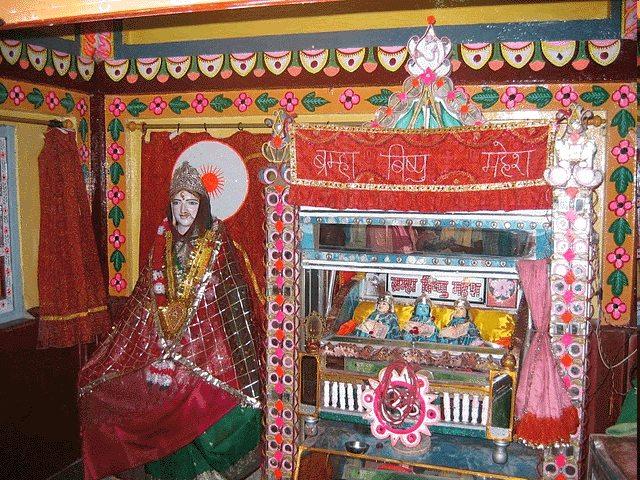 Chitrakoot Dham : Sati Anusuya Ashram, Trinity becomes three babies , त्रिदेव बन जाते है बच्चे