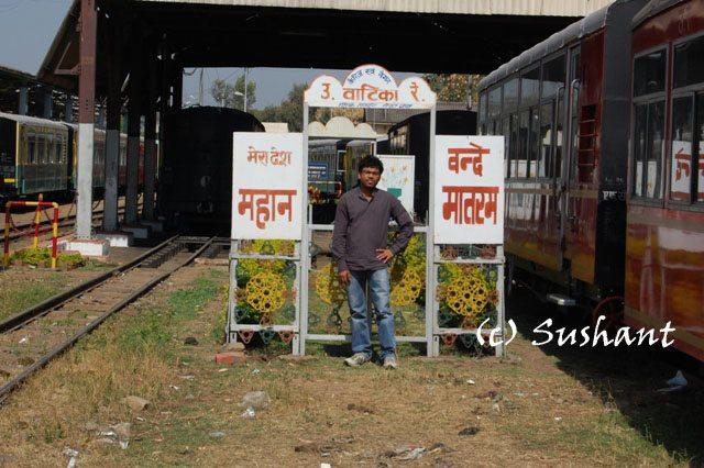 Kalka Shimla Loco Shed at Kalka.