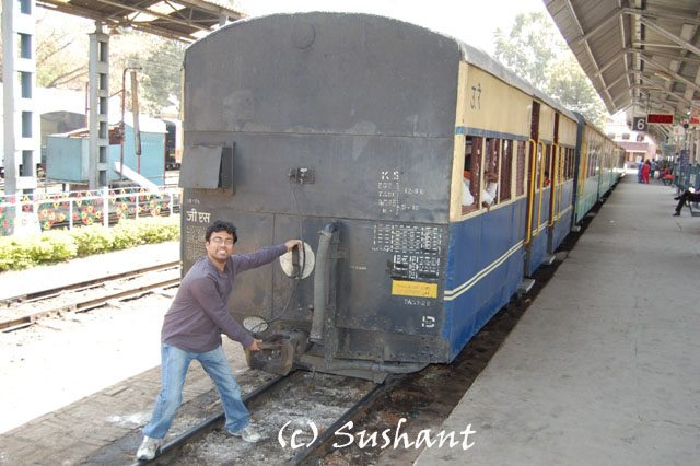 Kalka Shimla Train at Kalka