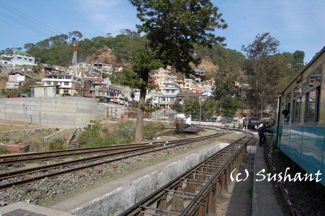 Solan Railway Station on Kalka Shimla route