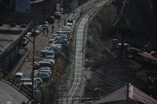 Narrow Guage Rail Track continues after Shimla Station. But upto where?