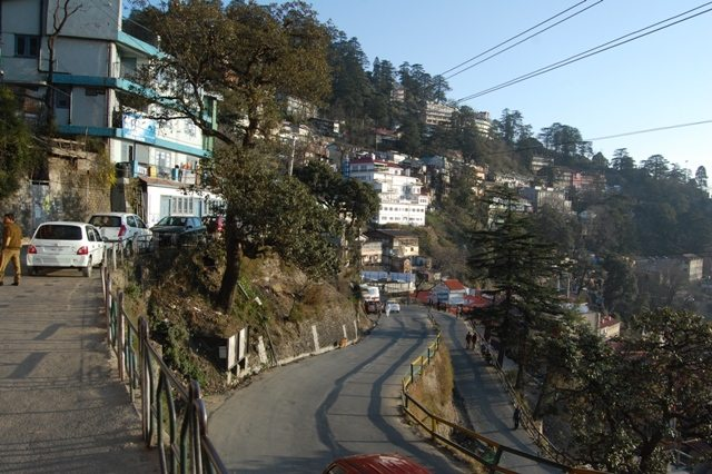 Parallel to Mall Road, there is a lower bazar also. The lower road leading to that market.