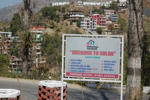 Solan - Return journey by bus.
