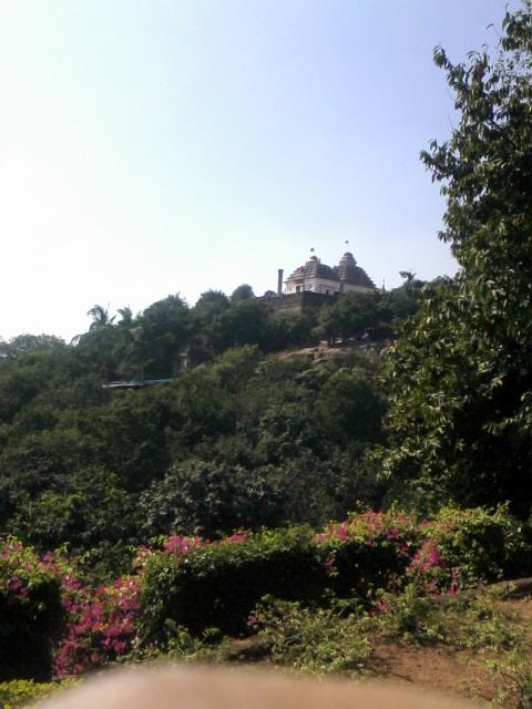 View of Udayagiri Hill from Khandagiri Hill