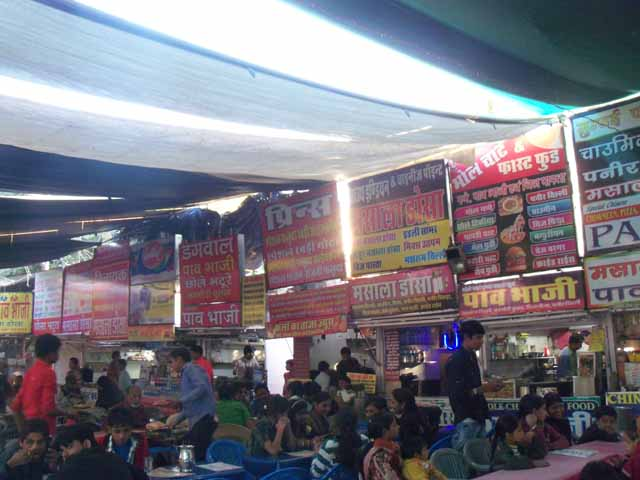Sukhadia circle street food joint... yummy