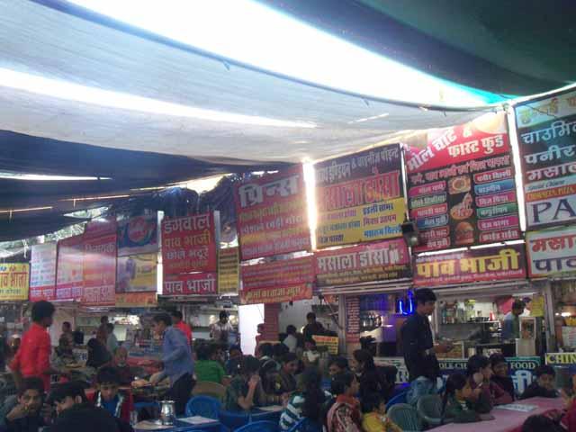 Sukhadia circle street food joint... yummy