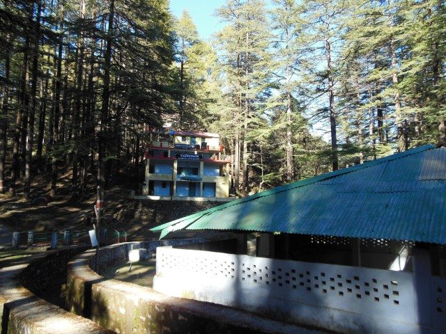 Dharamshala in temple area