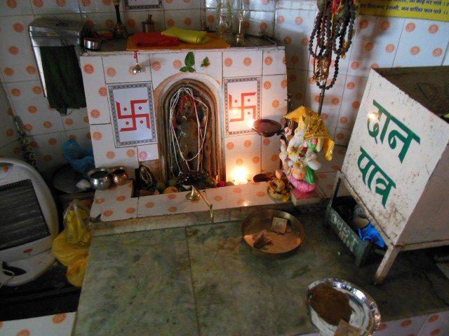 Shiv Pratima in Main Mandir