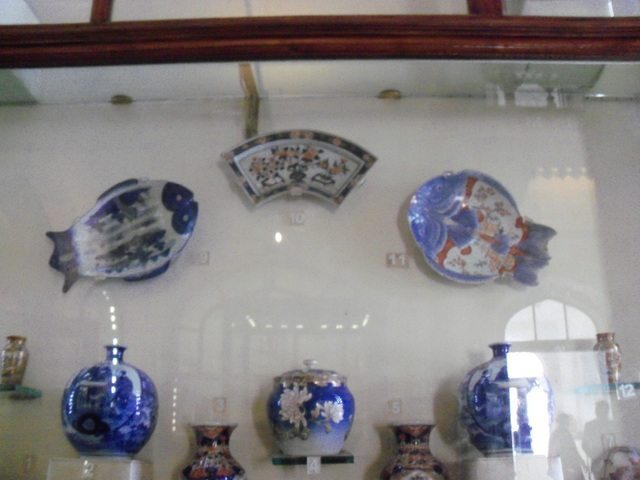 Blue Pottery at Museum