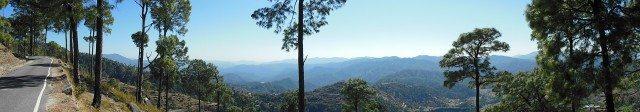 45 Panorama Tarkeshwar Mahadev Mandir Lansdowne Kotdwar Uttarakhand Vinay Rajput