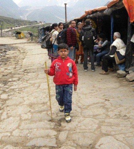 youngest trekker