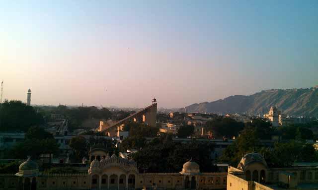 From Hawa Mahal - Jantar Mantar