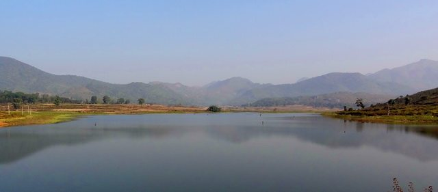 Another view of the Tajangi lake