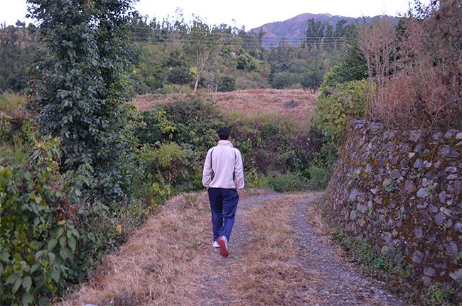 Nature trek...