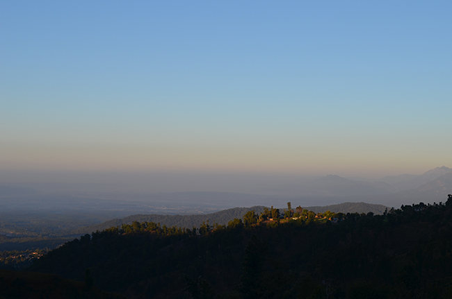 Early morning in the hills