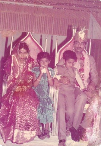 My wedding day - 9th May 1984