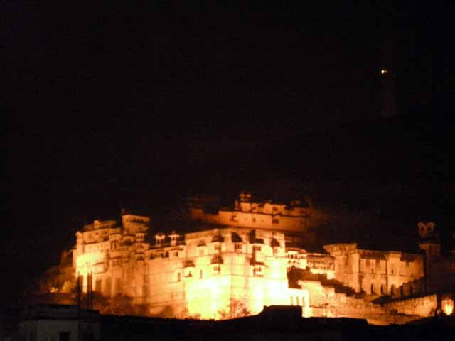 The Glowing Palace at Bundi