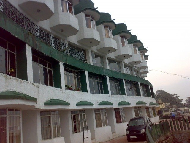 Hotel Garhwal terrace