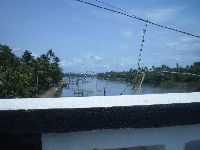 Backwaters on our way to Cherai