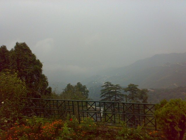 View from garhwal terrace hotel