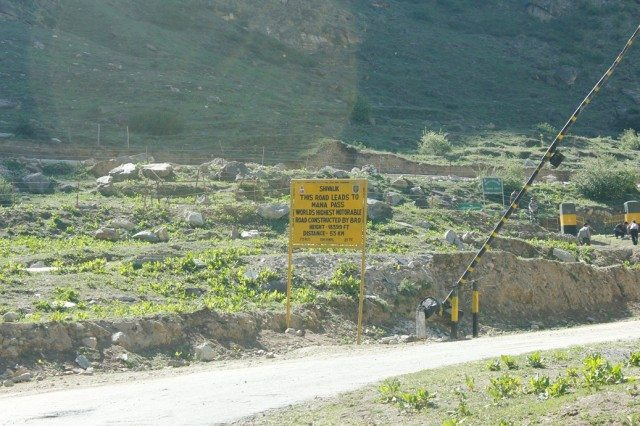 Highest Motorable Road