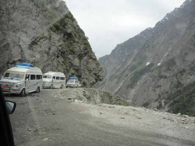 Rough Patch1 between Joshimath to Badrinath Ji