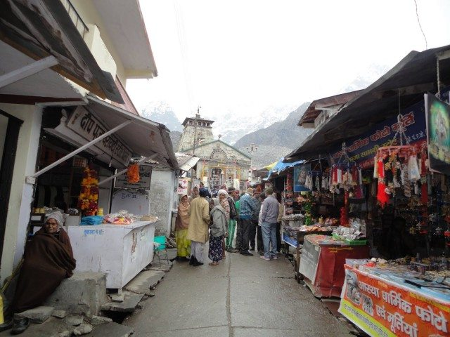 First Glimpse of KedarnathJi