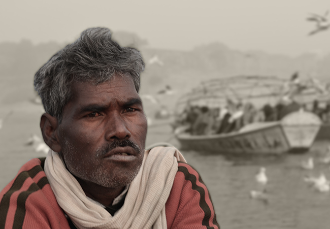 Majhi (the boatman)