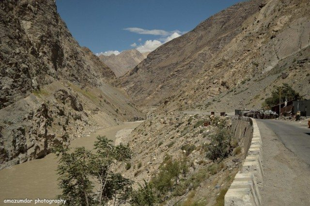Nearing Spiti Valley at Tobling