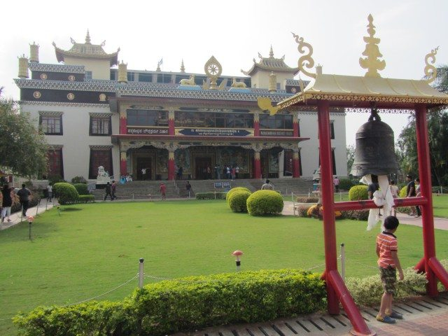 This is the only temple in which visitors are allowed