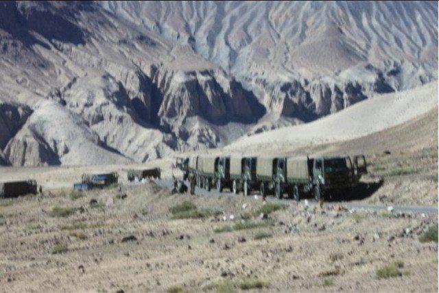 """आर्मी की """"Convoy"""""""