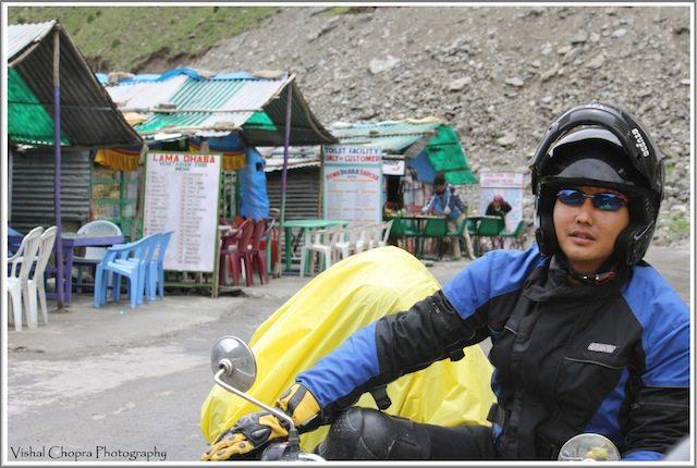 Deepak in frame @ Darcha