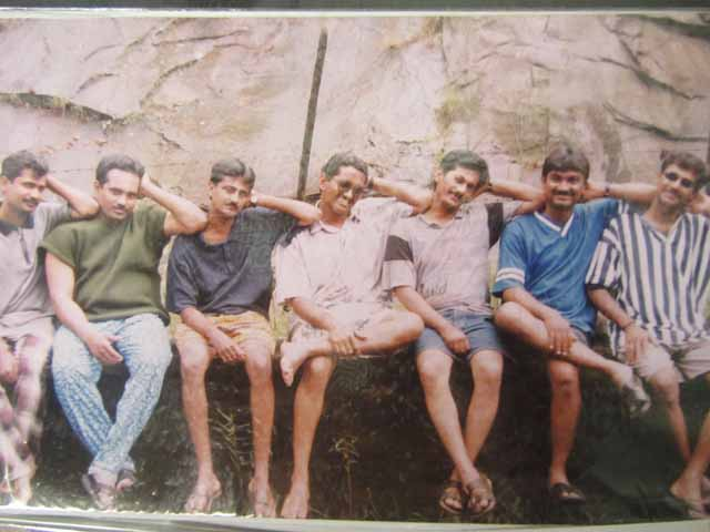Oh, those wonderful days. Near Athirappally Falls