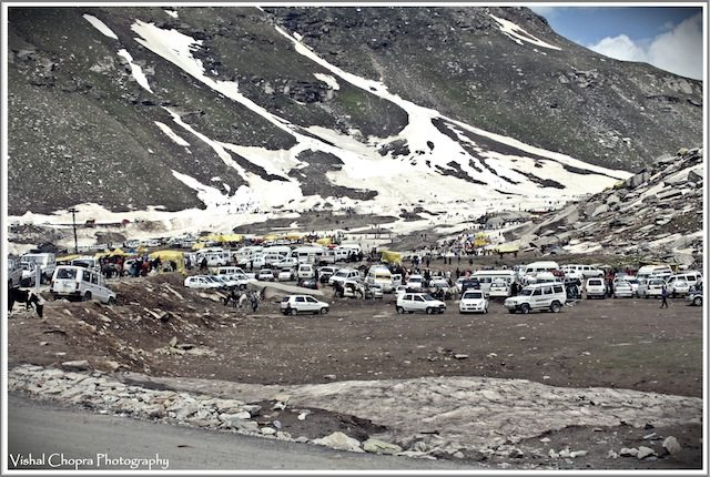 """First view of """"Rohtang Jot"""""""