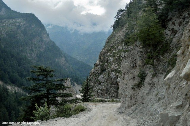 Road to Chitkul - Dangerous and full of adventure