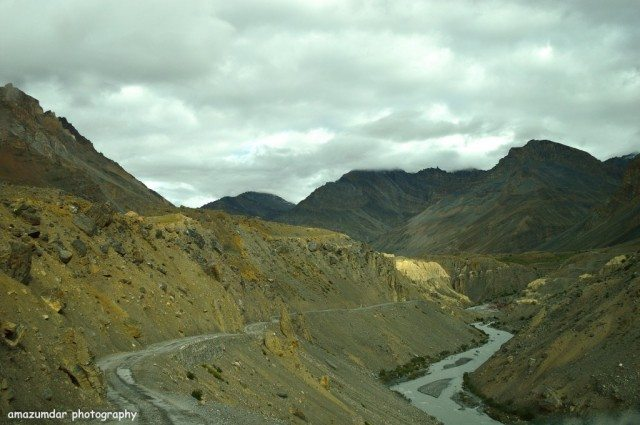 Spiti River - Kaza to Losar