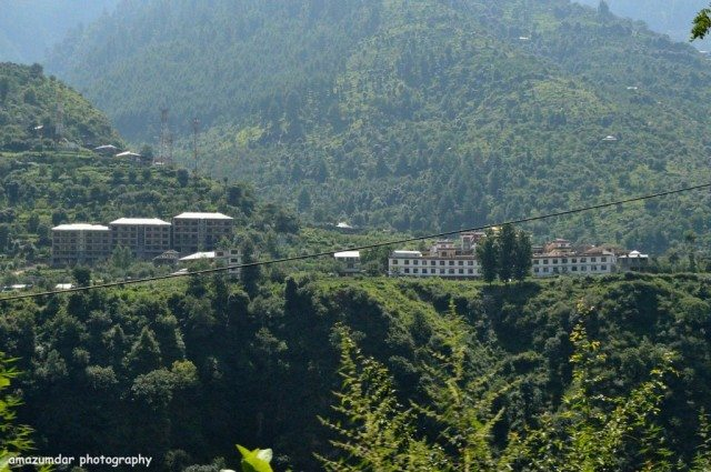 Manali Temple - From the other side of Byas
