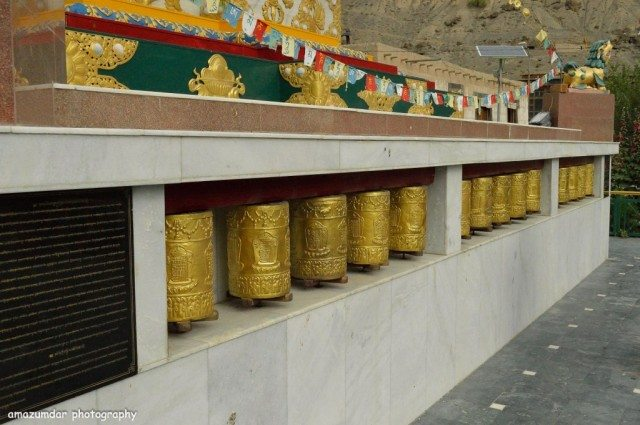 Holy Gongs Outside Tabo Monastery