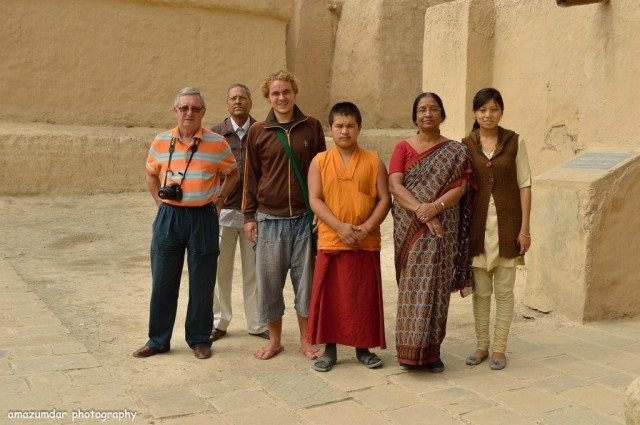 Monks with Mom and Dad