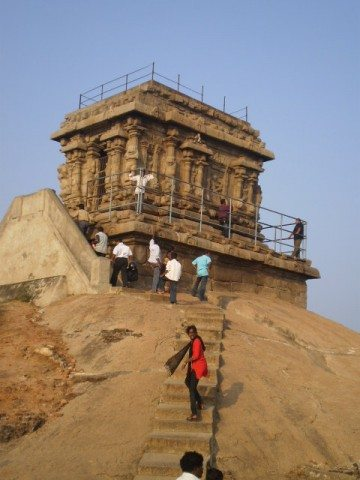 The Hill top temple
