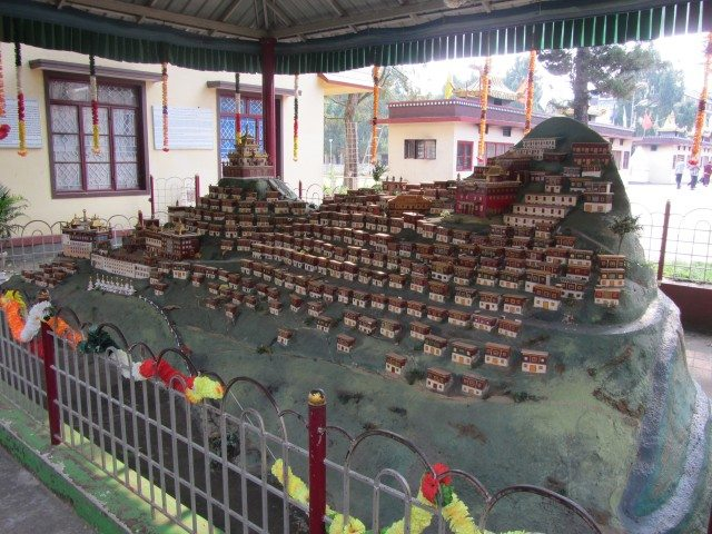 A miniature of some place in Tibet...