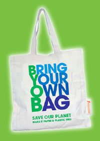 Bring your own bag (Courtesy  www.sunwaypyramid.com)
